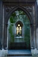 Ruined church in London