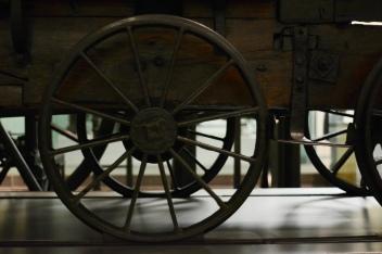Puffing Billy, the world's oldest surviving steam locomotive