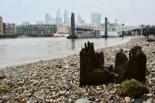 View of the city from bankside